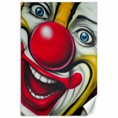 Clown Canvas 24  x 36