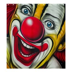 Clown Shower Curtain 66  x 72  (Large)