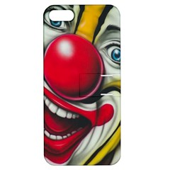 Clown Apple iPhone 5 Hardshell Case with Stand