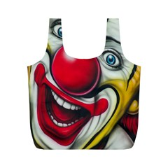 Clown Full Print Recycle Bags (M)
