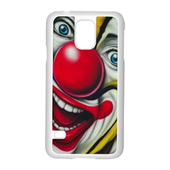 Clown Samsung Galaxy S5 Case (White)