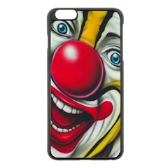 Clown Apple iPhone 6 Plus/6S Plus Black Enamel Case
