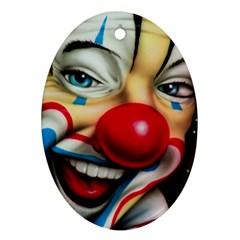 Clown Ornament (Oval)