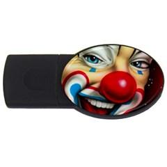 Clown USB Flash Drive Oval (2 GB)