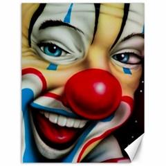 Clown Canvas 12  x 16