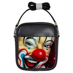 Clown Girls Sling Bags
