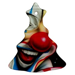 Clown Christmas Tree Ornament (Two Sides)