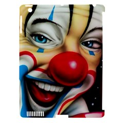 Clown Apple iPad 3/4 Hardshell Case (Compatible with Smart Cover)