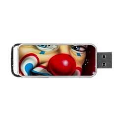 Clown Portable USB Flash (One Side)