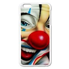 Clown Apple iPhone 6 Plus/6S Plus Enamel White Case