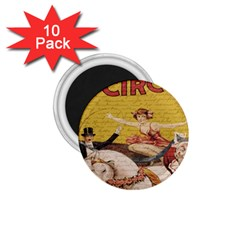Vintage circus  1.75  Magnets (10 pack)