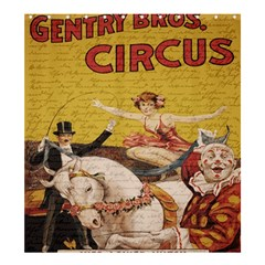 Vintage circus  Shower Curtain 66  x 72  (Large)
