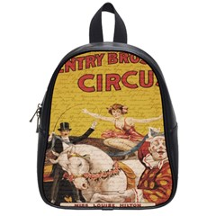 Vintage circus  School Bags (Small)