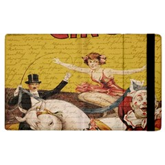 Vintage circus  Apple iPad 3/4 Flip Case