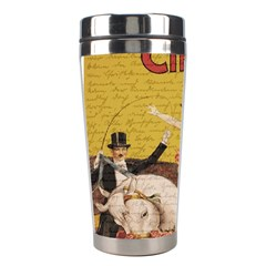 Vintage circus  Stainless Steel Travel Tumblers