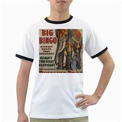 Vintage circus  Ringer T-Shirts