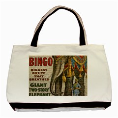 Vintage circus  Basic Tote Bag (Two Sides)