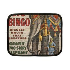 Vintage circus  Netbook Case (Small)