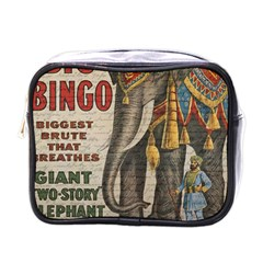Vintage circus  Mini Toiletries Bags