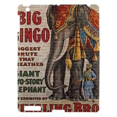 Vintage circus  Apple iPad 3/4 Hardshell Case