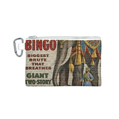Vintage circus  Canvas Cosmetic Bag (S)