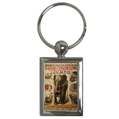 Vintage circus  Key Chains (Rectangle)