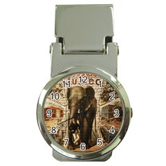 Vintage circus  Money Clip Watches