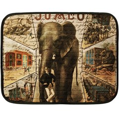 Vintage circus  Fleece Blanket (Mini)