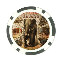 Vintage circus  Poker Chip Card Guard (10 pack)