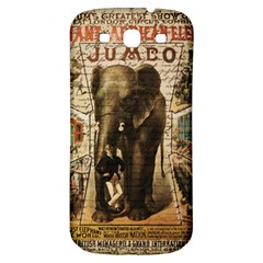 Vintage circus  Samsung Galaxy S3 S III Classic Hardshell Back Case