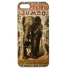 Vintage circus  Apple iPhone 5 Hardshell Case with Stand