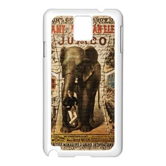 Vintage circus  Samsung Galaxy Note 3 N9005 Case (White)