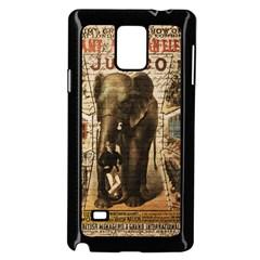 Vintage circus  Samsung Galaxy Note 4 Case (Black)