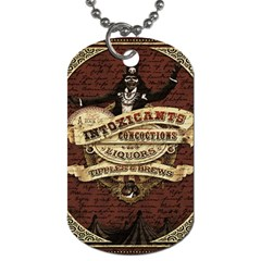 Vintage circus  Dog Tag (Two Sides)