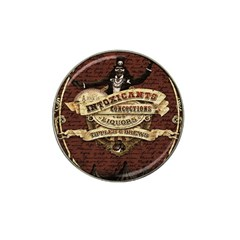 Vintage circus  Hat Clip Ball Marker (4 pack)