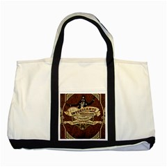 Vintage circus  Two Tone Tote Bag