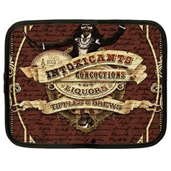 Vintage circus  Netbook Case (Large)