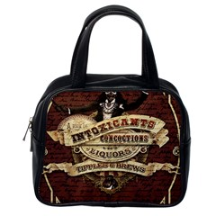 Vintage circus  Classic Handbags (One Side)