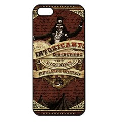 Vintage circus  Apple iPhone 5 Seamless Case (Black)