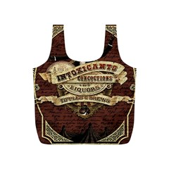 Vintage circus  Full Print Recycle Bags (S)