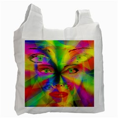 Rainbow girl Recycle Bag (Two Side)