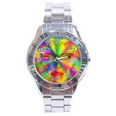Rainbow girl Stainless Steel Analogue Watch