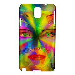 Rainbow girl Samsung Galaxy Note 3 N9005 Hardshell Case