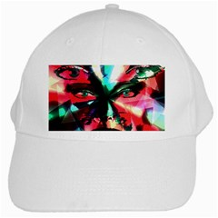 Abstract girl White Cap