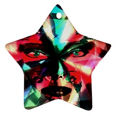 Abstract girl Ornament (Star)