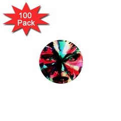 Abstract girl 1  Mini Magnets (100 pack)