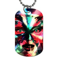 Abstract girl Dog Tag (One Side)