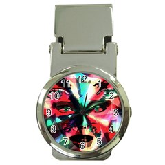 Abstract girl Money Clip Watches