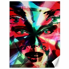 Abstract girl Canvas 36  x 48