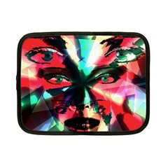 Abstract girl Netbook Case (Small)